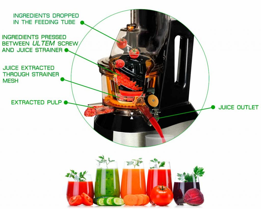 Primada Multifunction Slow Juicer : We sell multi function quality slow juicer. Quiet & easy to clean