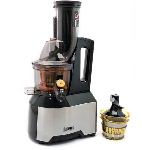 ReBoot Master 6000 slow press juicer (BLACK) Thailand juicerSlow juicers & ozone cleaners for ...